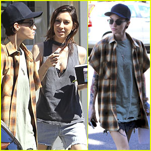 Ruby Rose Spends the Afternoon with Girlfriend Jess Origliasso