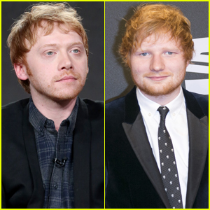 Rupert Grint Plays Along When People Think He's Ed Sheeran!