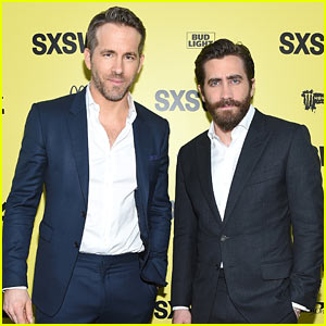 Ryan Reynolds & Jake Gyllenhaal Suit Up for 'Life' Premiere at SXSW Festival
