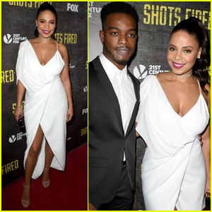 Sanaa Lathan & the 'Shots Fired' Cast Unintentionally Matched at Their Premiere!