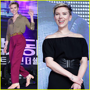 Scarlett Johansson Greets Tons of Fans at 'Ghost in the Shell' Seoul Events!