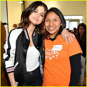 Selena Gomez Surprises Teens & Inspires Them to Dream Big