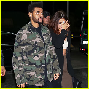 Selena Gomez & The Weeknd Leave Brazil After His Concert