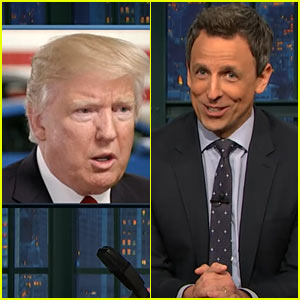 Seth Meyers Slams Trump for Budget Cuts & More, Calls Him 'Dead Inside'  - Watch Now! (Video)