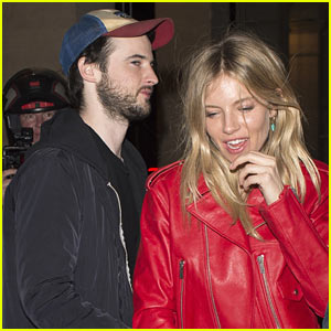 Sienna Miller Gets Cozy with Ex Tom Sturridge in Paris