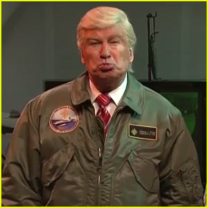 'SNL': Alec Baldwin Returns as Trump to Tackle Alien Invasion - Watch Now! (Video)
