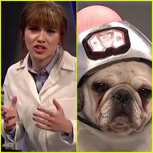 'SNL': Scarlett Johansson Finds Out Her Talking Dog is a Trump Supporter - Watch Now! (Video)