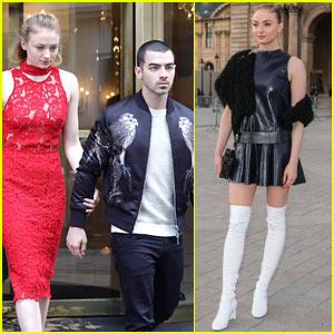 Sophie Turner & Joe Jonas Enjoy Date Night in Paris!