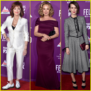 Jessica Lange & Susan Sarandon Premiere 'Feud: Bette & Joan'