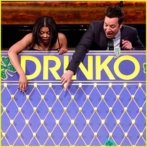 Taraji P. Henson Plays St. Patrick's Day Version of 'Drinko'