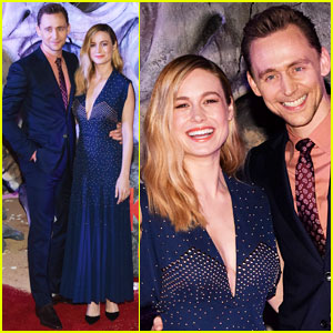 Tom Hiddleston & Brie Larson Step Out in Style for 'Kong' Premiere in Mexico