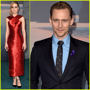 Tom Hiddleston & Brie Larson Premiere 'Kong: Skull Island' in Hollywood