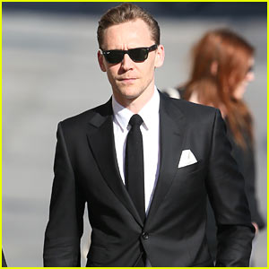 Tom Hiddleston Looks Handsome in a Suit While Out in L.A.