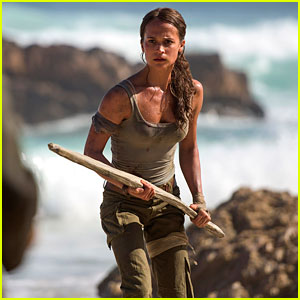 Alicia Vikander in 'Tomb Raider' - First Look Photos!