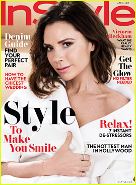 Victoria Beckham Covers 'InStyle,' Looks Back at First Collection