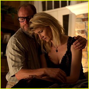 Woody Harrelson & Laura Dern Share Tender Moment in Exclusive 'Wilson' Photos