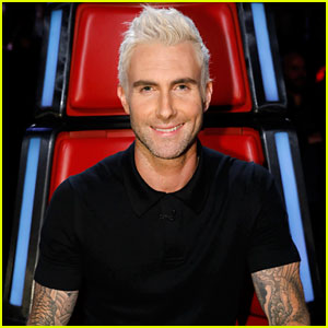 Adam Levine Says Daughter Dusty Still Recognizes Him With Blond Hair!