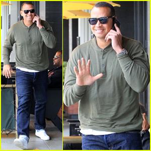 Alex Rodriguez Steps Out For Lunch Sans Jennifer Lopez
