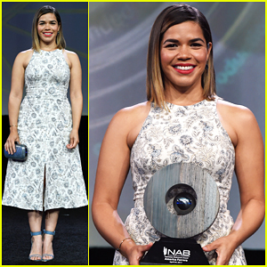 America Ferrera Gets Honored By National Association of Broadcasters!