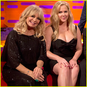 Amy Schumer Wishes She Came Out Of Her 'Snatched' Co-star Goldie Hawn!