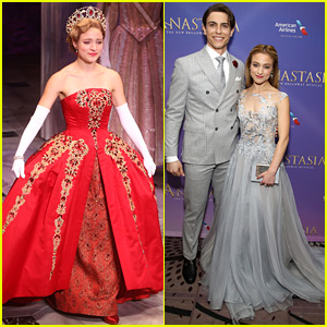 Anastasia's Christy Altomare & Derek Klena Open the Show on Broadway!