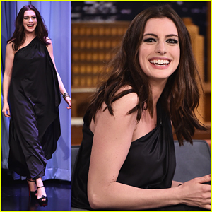 Anne Hathaway & Jimmy Fallon Perform Badly Google Translated Songs - Watch Here!