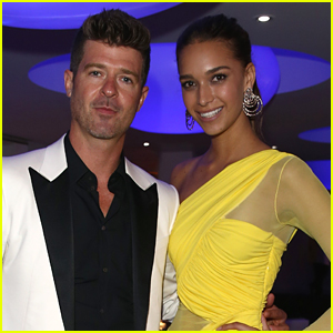 April Love Geary Jokes About 18 Year 'Age Gap' with Boyfriend Robin Thicke