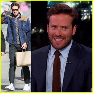 Armie Hammer Almost Missed The Birth Of His Newborn Baby Boy Ford!