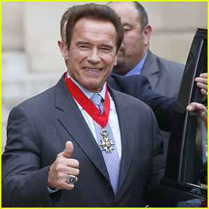 Arnold Schwarzenegger Honored by French President for His Environmental Work