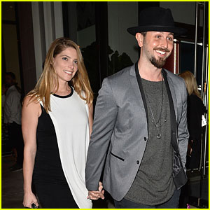 Ashley Greene Shows Off Blonder Hair While Leaving Dinner With Fiance Paul Khoury