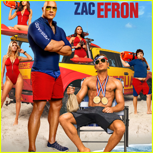 Zac Efron Goes Shirtless in Two New 'Baywatch' Posters