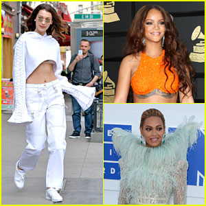 Bella Hadid Gushes About Rihanna & Beyonce: 'You Have to Like Them to Be a Girl'