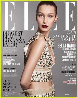 Bella Hadid Shares 'Elle' Cover With Hailey Baldwin & Jasmine Tookes