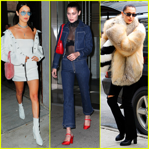 Bella Hadid Shows Off Her Stylish Side in NYC