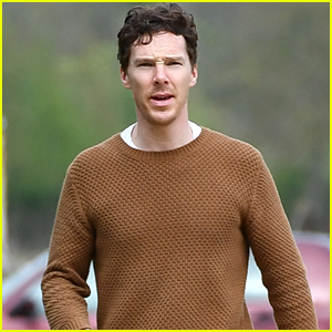 Benedict Cumberbatch Steps Out For First Time Since Welcoming Son