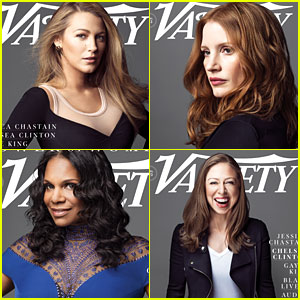 Blake Lively, Jessica Chastain, Audra McDonald Stand Up for a Cause in Variety's Power of Women