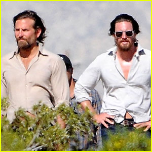 Bradley Cooper Films 'A Star is Born' with Lookalike Body Double