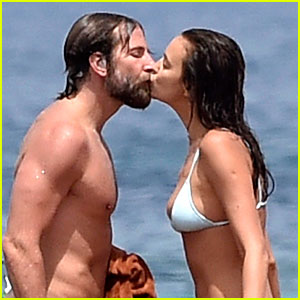 New Parents Bradley Cooper & Irina Shayk's Hottest Beach Pics!