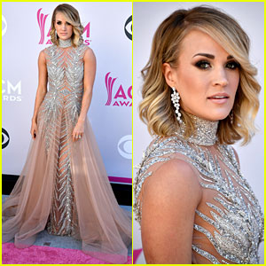 Carrie Underwood Stuns on ACM Awards 2017 Red Carpet!