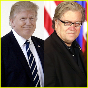 Celebrities React to Donald Trump Removing Steve Bannon From National Security Council