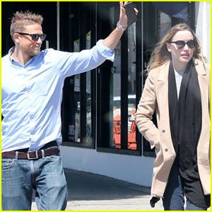 Charlie Hunnam & Girlfriend Morgana McNelis Step Out Ahead of His 37th Birthday!