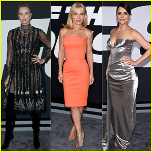 Charlize Theron, Elsa Pataky, & Michelle Rodriguez Go Glam for 'Fate of the Furious' Premiere!