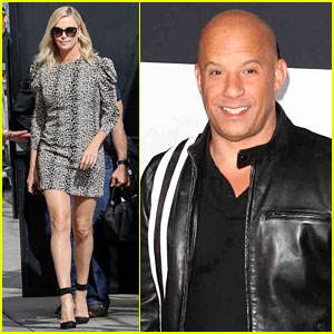 Charlize Theron Responds to Vin Diesel's Account of Their 'Fate of the Furious' Kiss