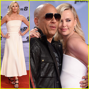Charlize Theron Is White Hot for 'Fate of the Furious' German Premiere with Vin Diesel!