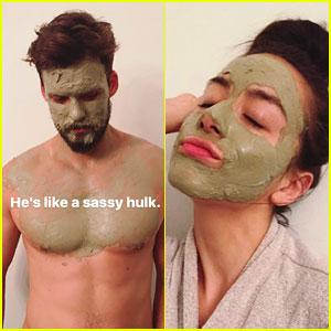 Chloe Bennet Turns Boyfriend Austin Nichols into a 'Sassy Hulk'