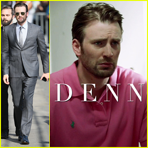 Chris Evans Debuts Trailer For New (Fake) Biopic 'Dennis'!