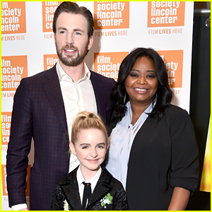 Chris Evans & Octavia Spencer Premiere 'Gifted' in NYC!
