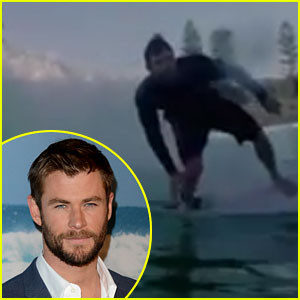 Chris Hemsworth Shows Off Surfing Skills in New Video!