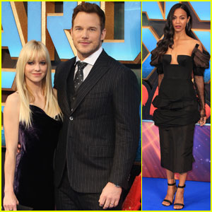 Chris Pratt & Zoe Saldana Bring 'Guardians of the Galaxy Vol. 2' to London