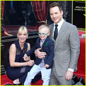 Chris Pratt Brings Son Jack to His Walk of Fame Ceremony!